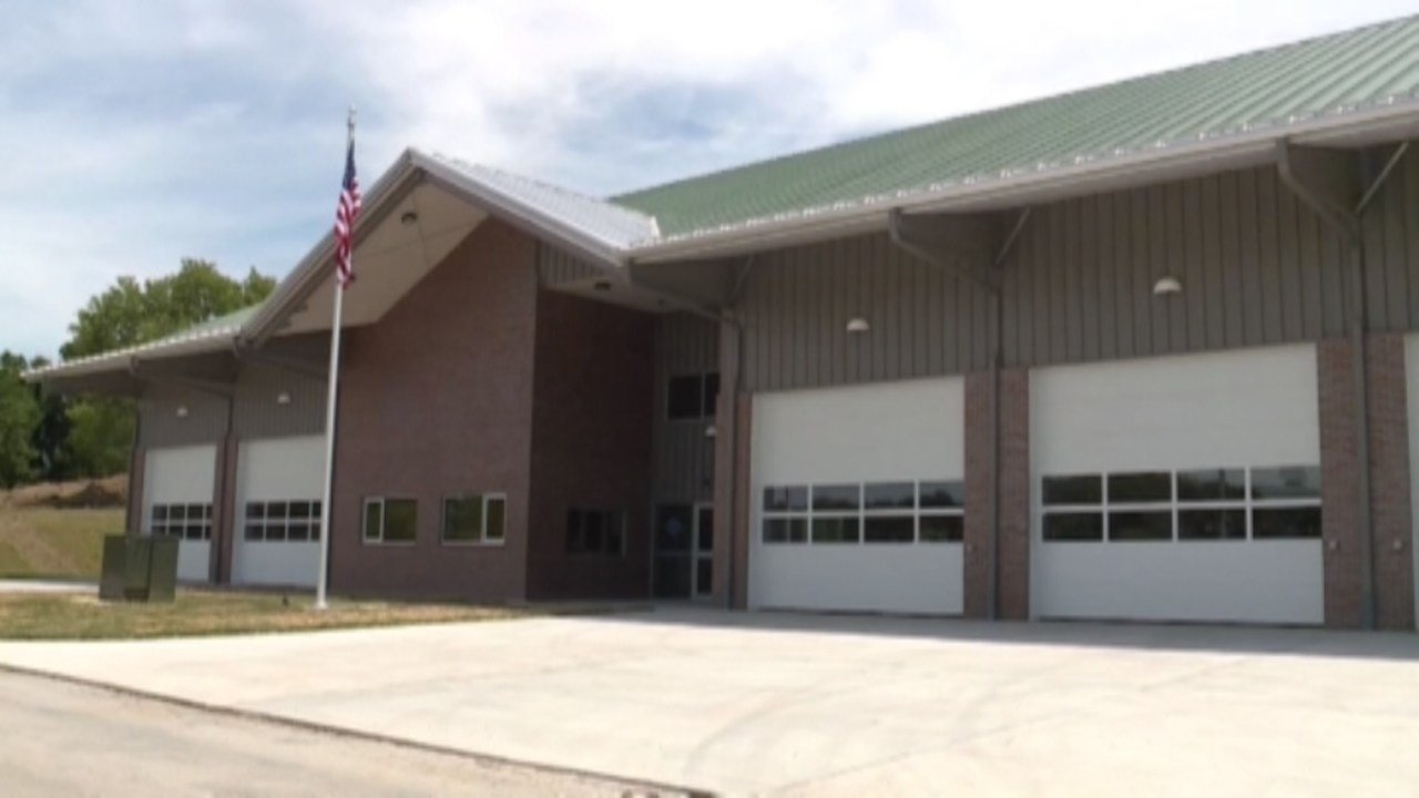 Hill used his lottery winnings to pay for a new state-of-the-art fire station for his town (Photo: KMBC via CNN)