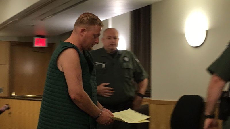 Kyle Holder appears in court Wednesday morning (KPTV)