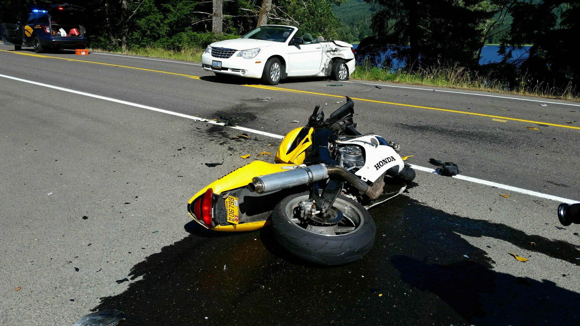 Motorcyclist Killed In Crash Near Cottage Grove Kptv