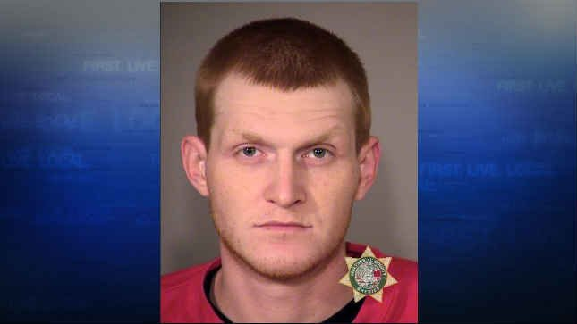 Chad Camp, jail booking photo (Photo: Portland Police)