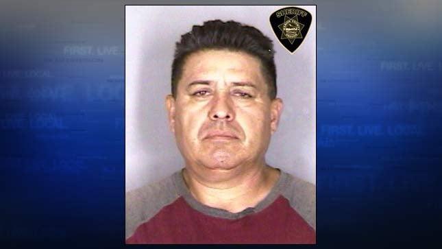 Mauricio Aguilera-Garcia, jail booking photo