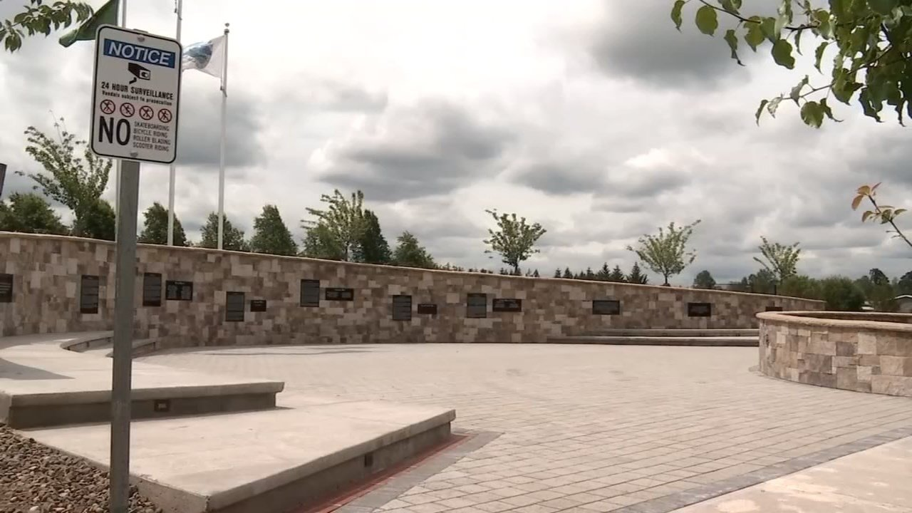 Battle Ground Veterans Memorial (Photo: KPTV)