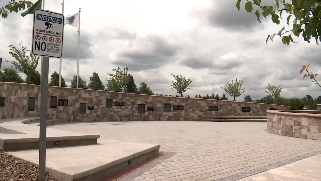 Battle Ground Veterans Memorial (Photo: KPTV)