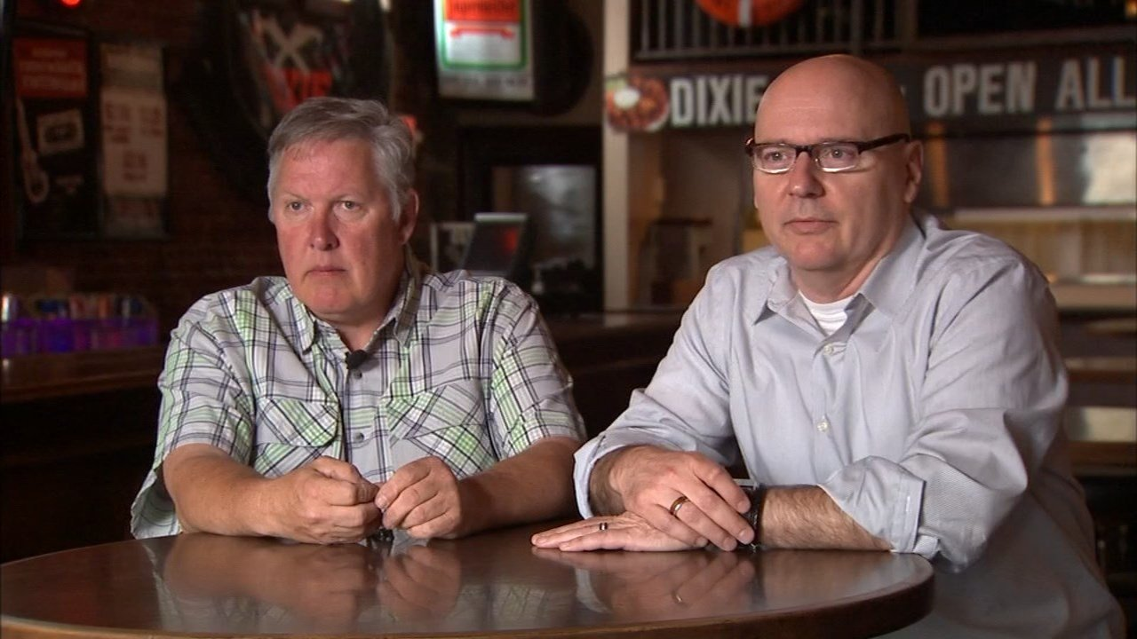 Jeff Plew and Dan Lenzen, owners of Dixie Tavern and Duke's Bar & Grill (KPTV)