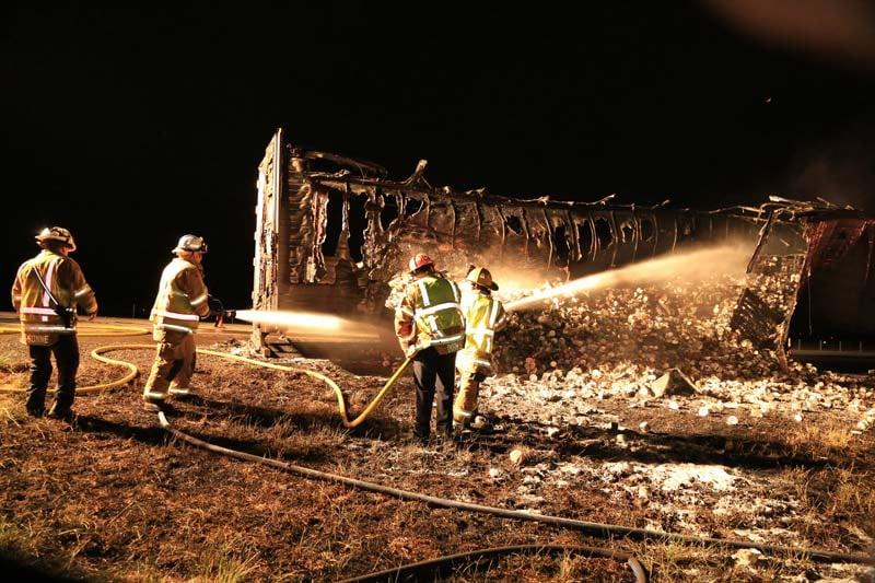Photo: Dennis Weis, Tangent Fire District