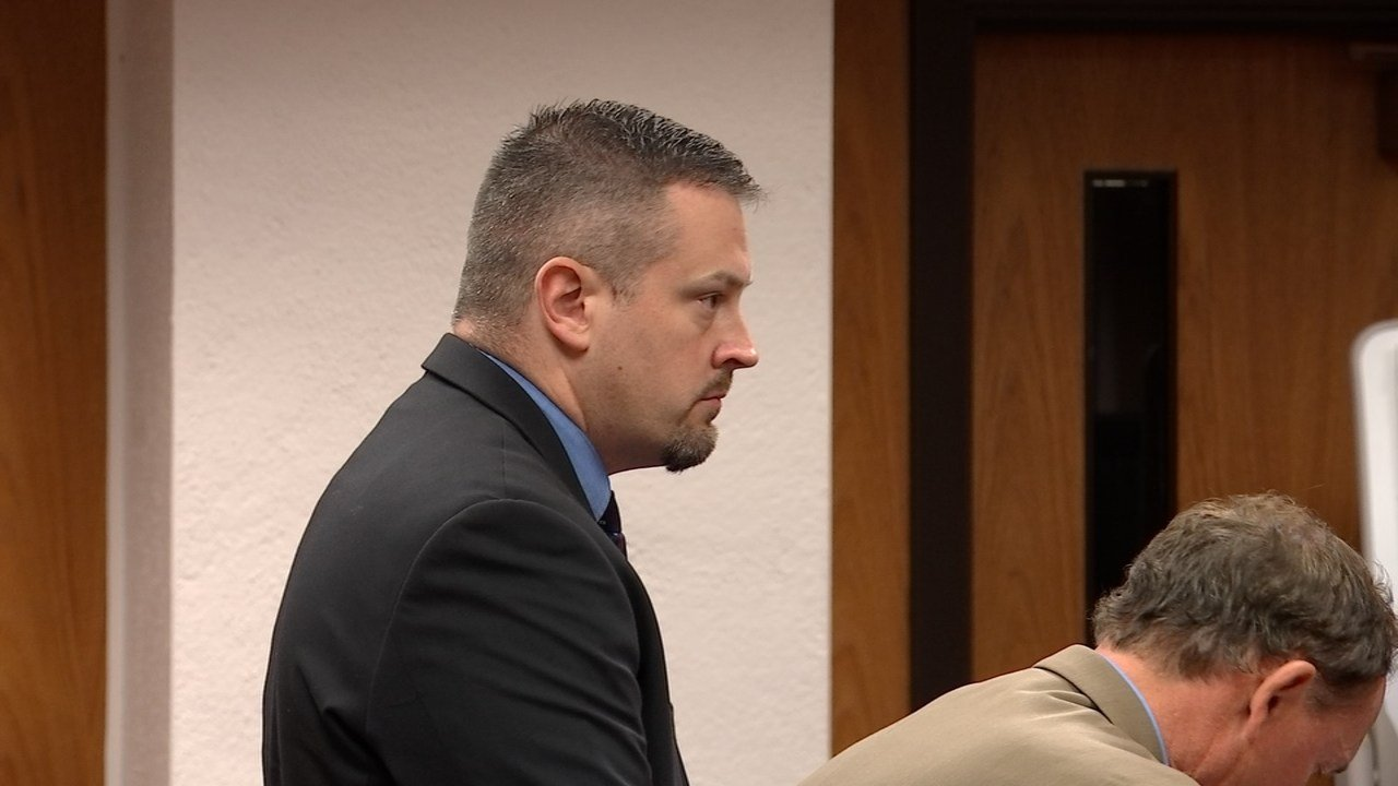 Johnathan Christensen during July court appearance. (Source: KPTV)
