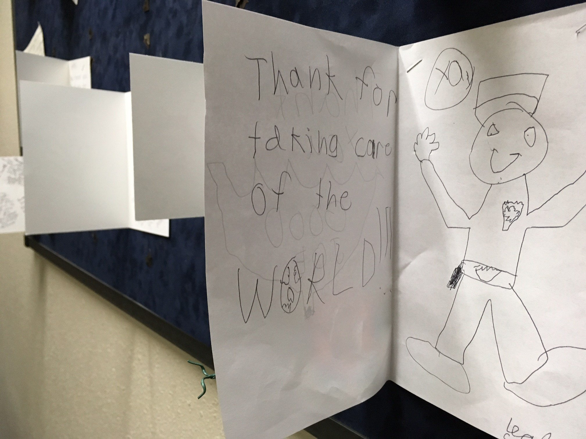 One of the notes sent in to Gresham Police. (KPTV)