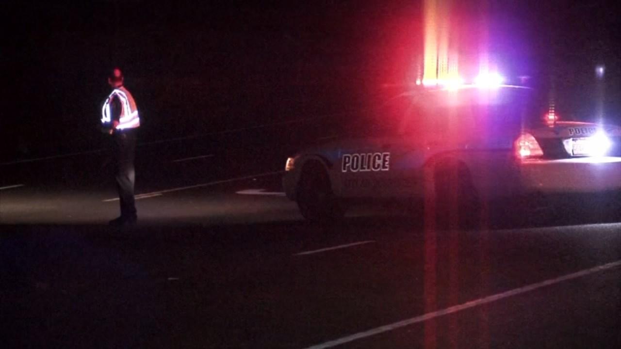 Scene of officer-involved shooting on Highway 22 in Polk County (Source: KPTV)