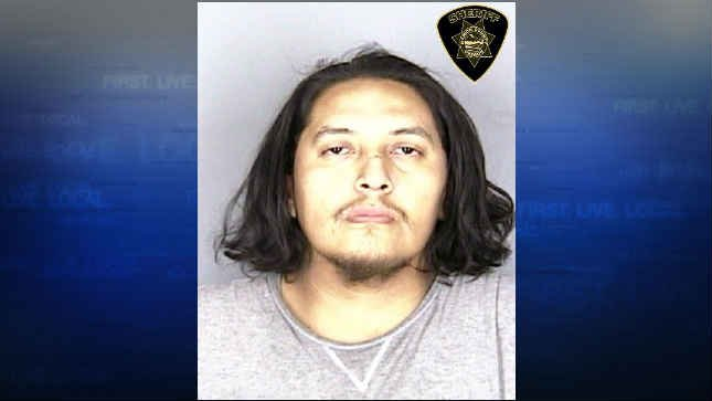 Earl Creemedicine, jail booking photo (Courtesy: Keizer Police Department)
