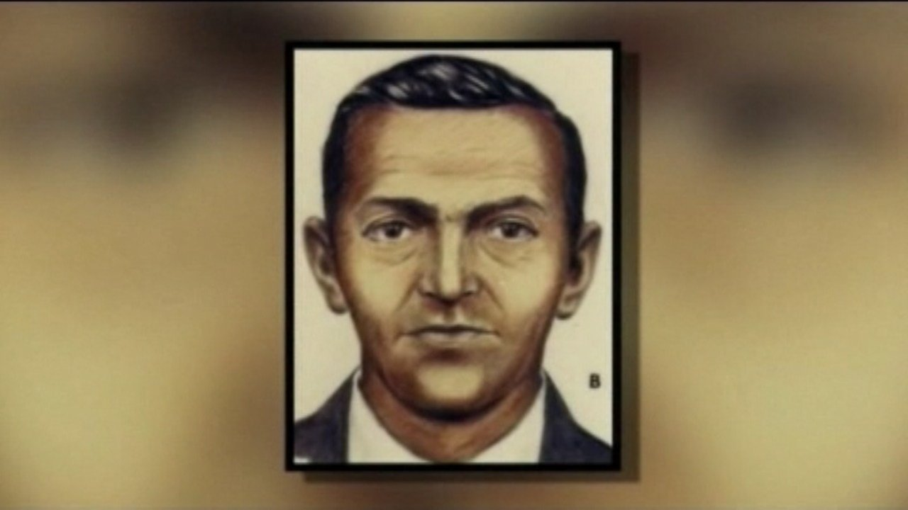 Police sketch of DB Cooper.