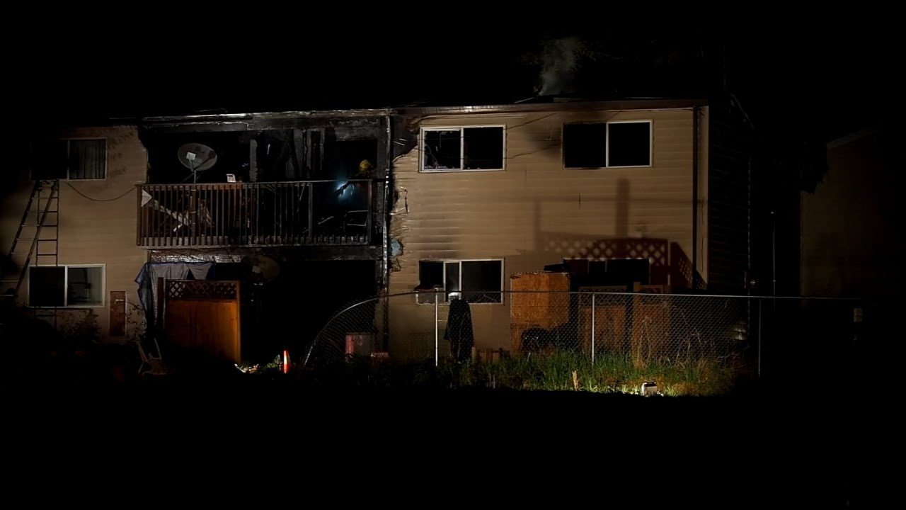 Apartment fire in Vancouver, WA