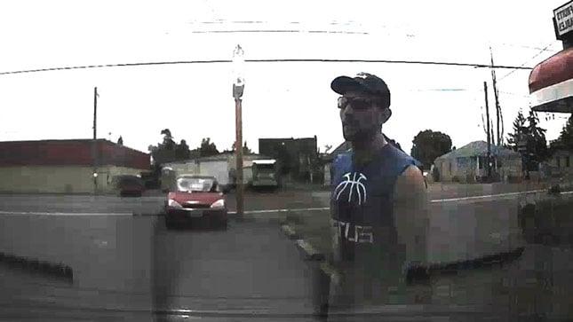 Still image of suspect.