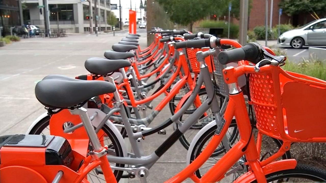 Biketown bicycles (KPTV file image)