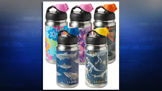 L.L. Bean said a manufacturer used lead solder to seal the bottoms of some of its children's water bottles (Photo: L.L. Bean)