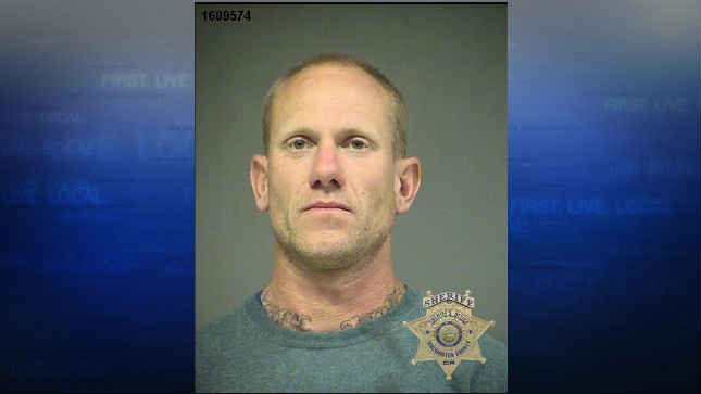 Keith Brian Martin, jail booking photo (Tigard Police Department)