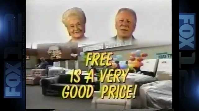 A commercial featuring Tom and Gloria Peterson. (KPTV file image)