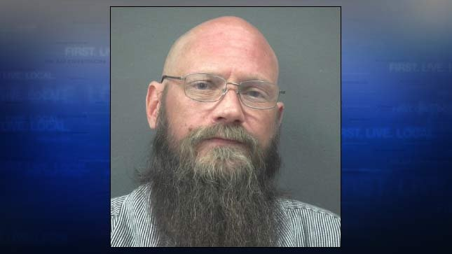 Gregory Wold, jail booking photo