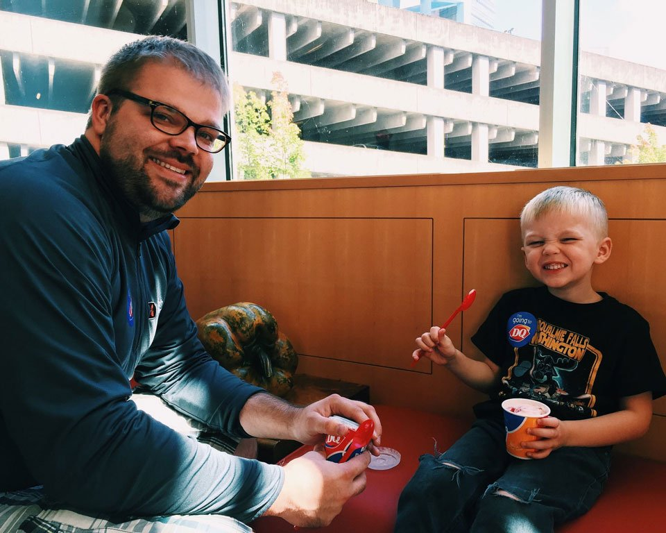 Patients at OHSU Doernbecher enjoyed Blizzard Day at the hospital, one day before the Children's Miracle Network Miracle Treat Day at Dairy Queens across the country.