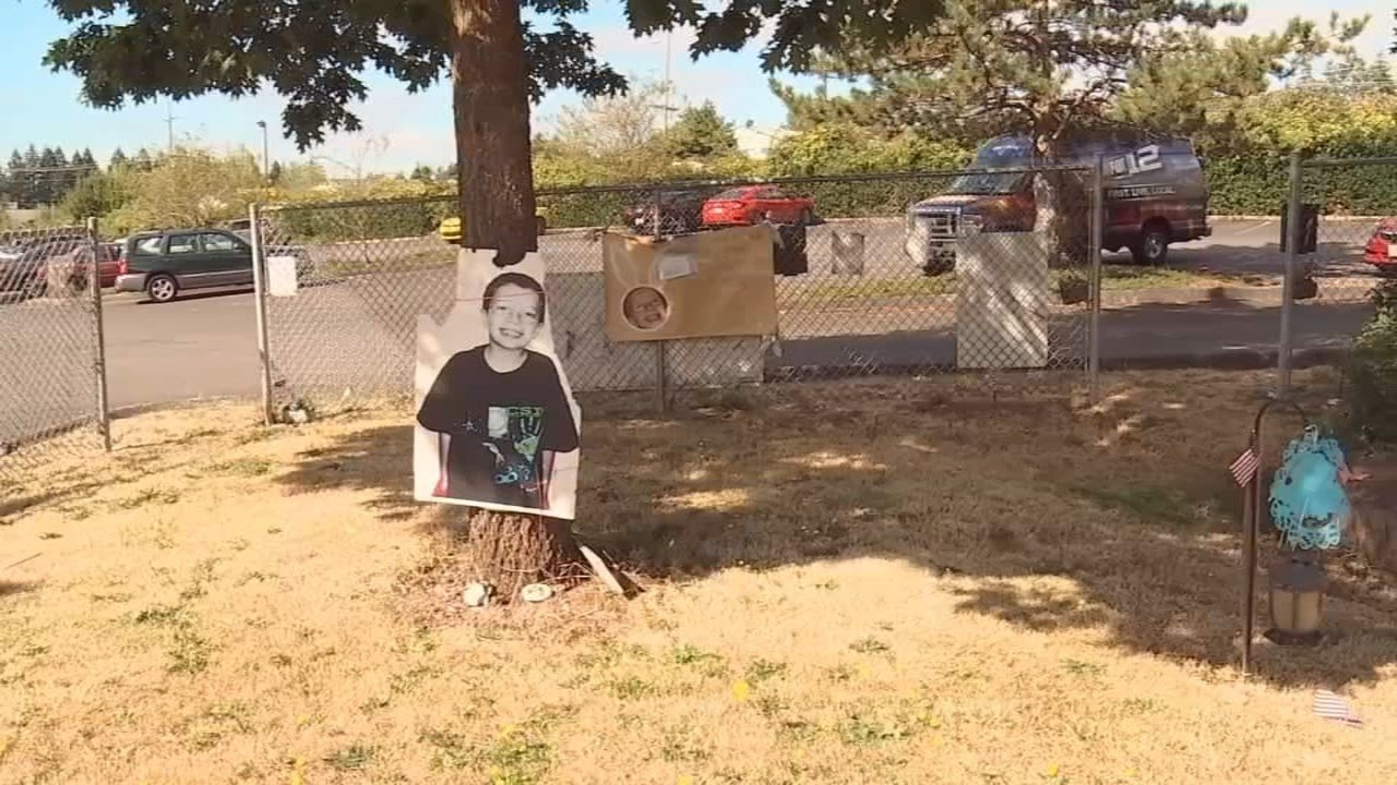 'Wall of Hope' for Kyron Horman in Beaverton. (Photo: KPTV)