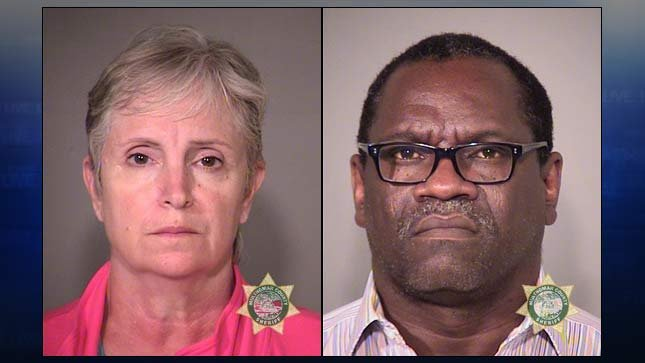 Julie Ann Demille, Osasuyi Kenneth Idumwonyi, jail booking photo