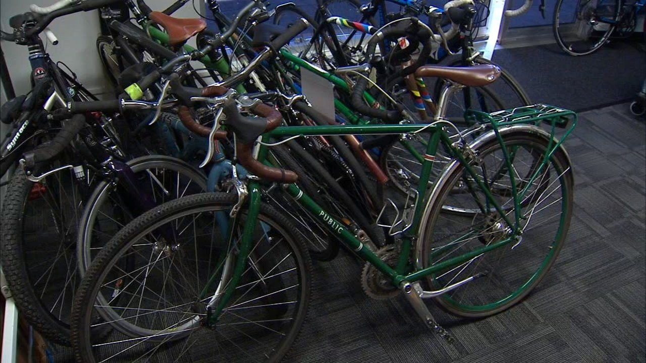 According to members of the Portland Police Bureau's Bike Theft Task Force, the value of bikes and parts stolen each year around the city tops $4 million. (KPTV)