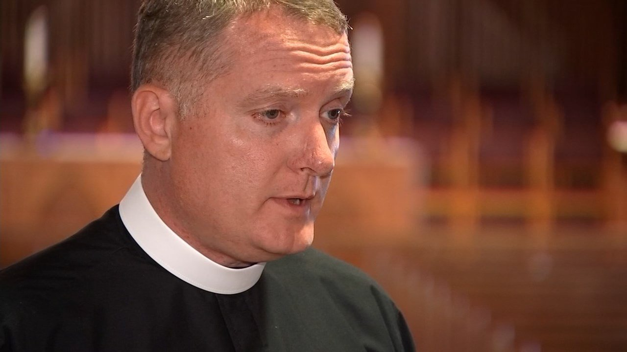 Rev. Jeremy Lucas, of Christ Church Episcopal Parish in Lake Oswego (Photo: KPTV)