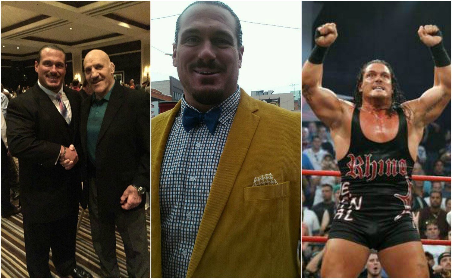 Terrance Gerin, also known as the professional wrestler Rhyno, won the GOP Primary for Michigan's 15 district State House seat Tuesday. (TerranceGuidoGerin.com)