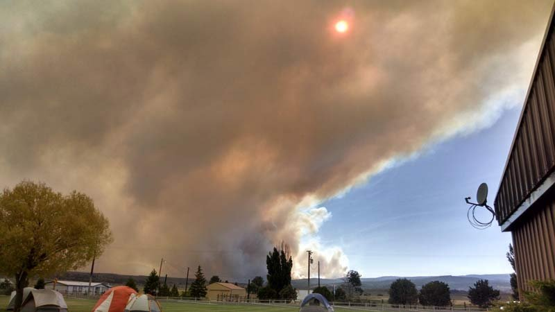 Rail Fire. Photo: U.S. Forest Service