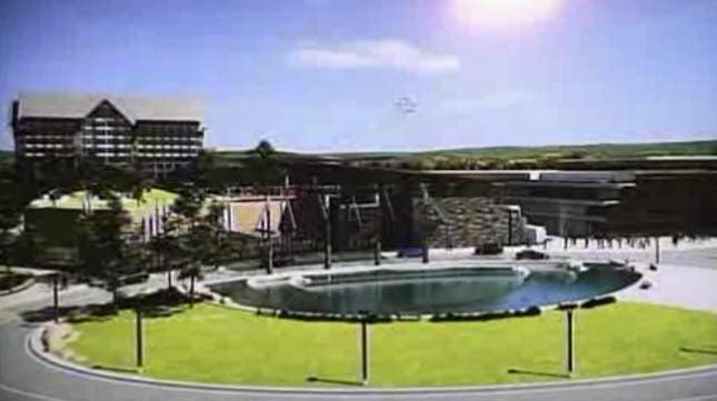 Rendering of proposed casino in Wood Village called The Grange in 2012 (KPTV file image)