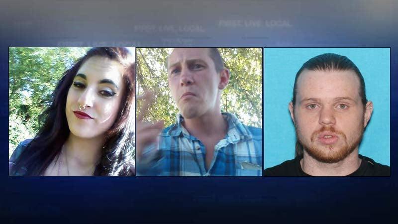 Stephanie Tomlinson, Bradley Scott, Brandon Allen (Photos from Dallas Police Department)
