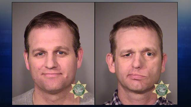 Ammon Bundy (left) and Ryan Bundy (right), jail booking photos