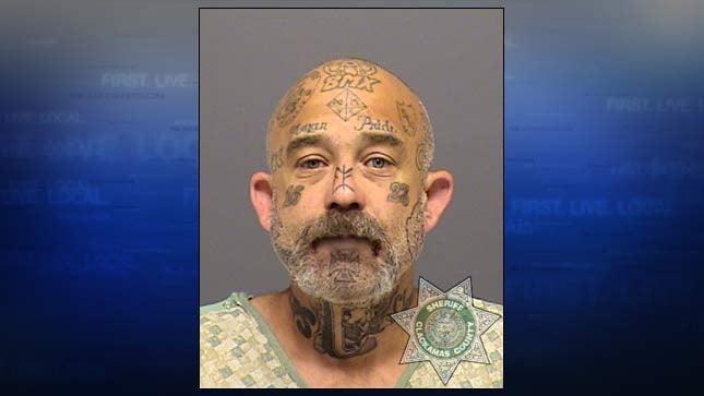 Jeffrey Giddings, jail booking photo