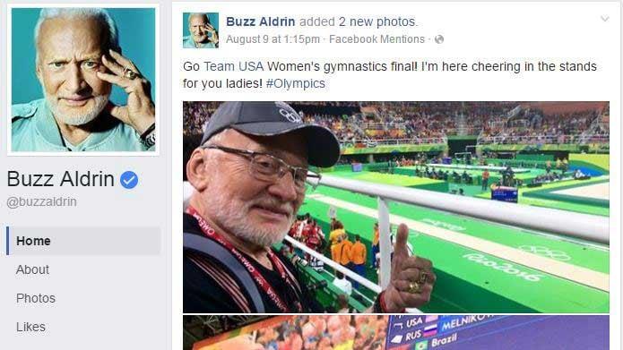Screengrab from Facebook/Buzz Aldrin
