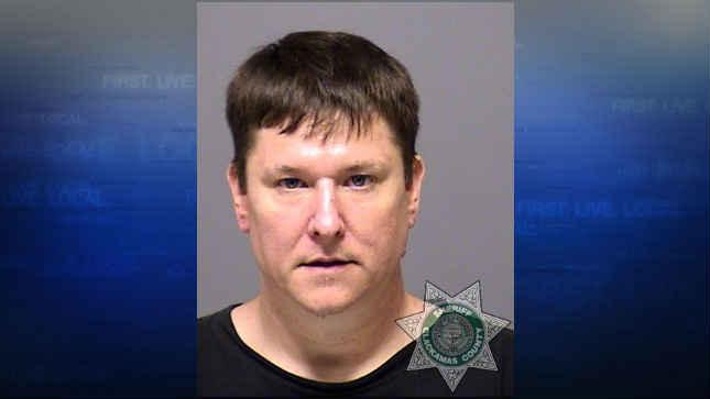 John Vanderbeck, jail booking photo (Photo: Clackamas County Jail)