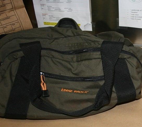 Stolen bag (Courtesy: West Linn Police Dept.)
