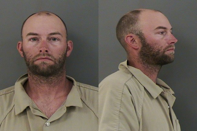 Jeremy Russell Janssen, jail booking photo