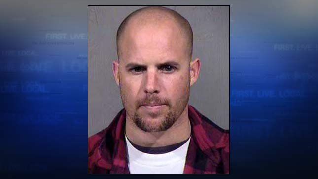 Jon Ritzheimer, jail booking photo