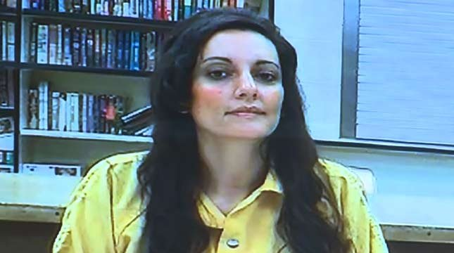 Jessica Smith during prior court appearance (KPTV file image)