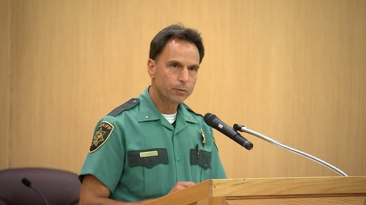 Interim Multnomah County Sheriff Mike Reese. (Source: KPTV)