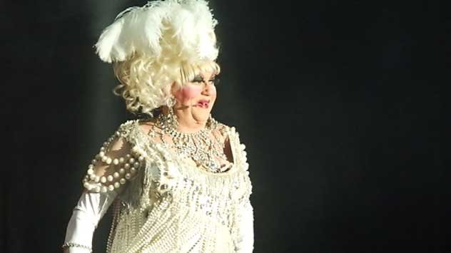 Walter Cole, 85, better known by his stage name, Darcelle XV, is the officially the oldest drag queen in the world (KPTV file photo)