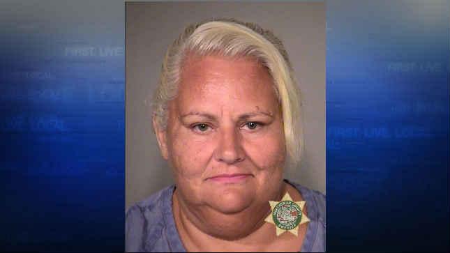 Jodi Peters, jail booking photo (Courtesy: Multnomah County Sheriff's Office)