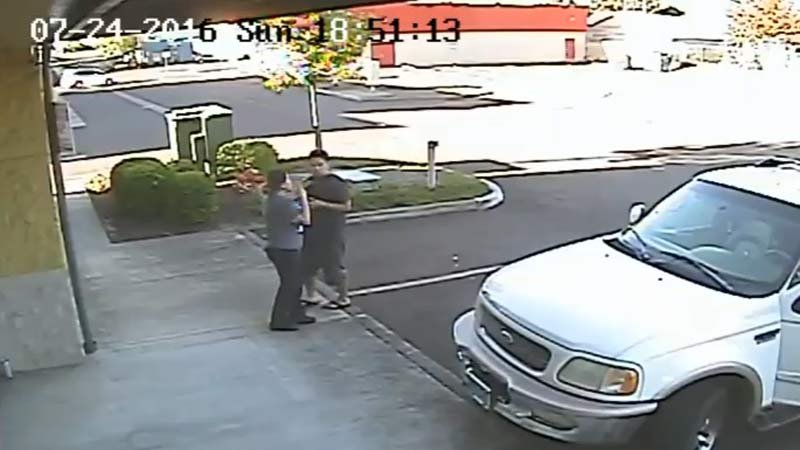 (Surveillance image released by Salem PD)