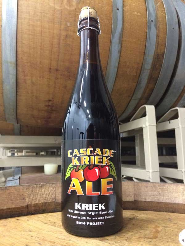 Cascade Brewing's 2014 Kriek (Photo: Cascade Brewing/Brian Gurney)