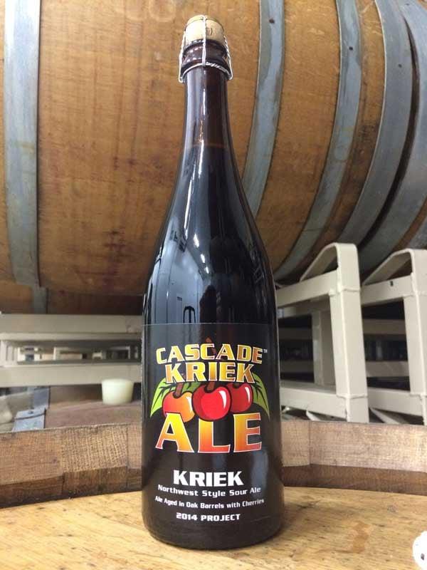 Cascade Brewing's 2014 Kriek (Photo: Cascade Brewing/Brian Gurney)