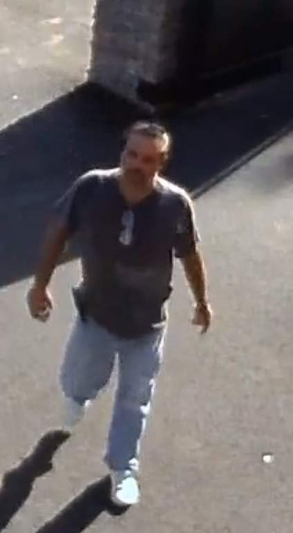 Surveillance image of purse theft suspect at Happy Valley Station Food Carts. (Image released by Happy Valley police)