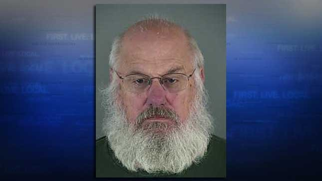 Michael Hochgreve, jail booking photo
