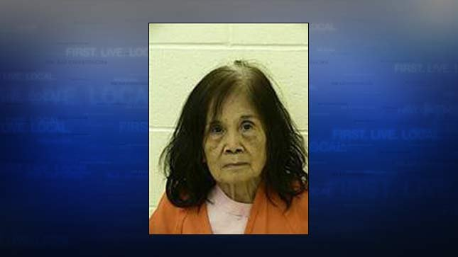 Esther Wilkerson, jail booking photo