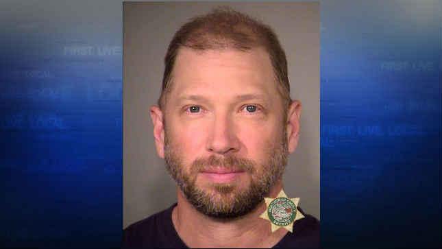 Jeremy Kidwell, jail booking photo (Courtesy: Portland Police Bureau)