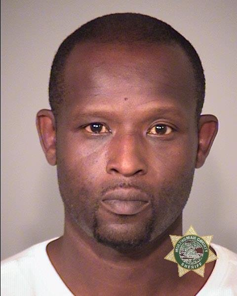 Antonio Irving Benjamin booking photo (Multnomah Co. Jail)