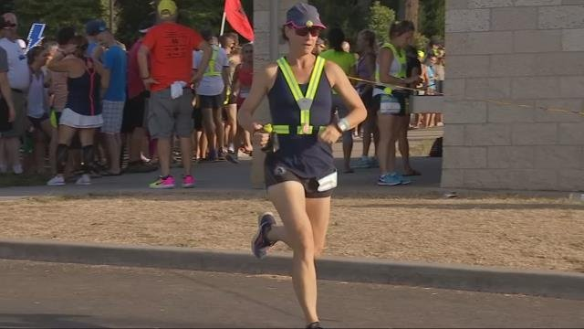 Extreme heat causing problems for runners in Hood to Coast relay
